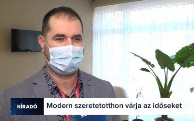 KAPOSVÁRI SZERETETOTTHON – SOMOGY TV INTERJÚ
